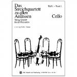 Das Streichquartett zu allen Anlässen Band 1 – Violoncello