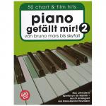 Piano gefällt mir! 50 Chart und Film Hits Band 2 (+CD)
