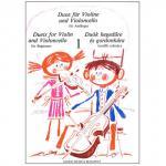 Pejtsik, A./ Vigh, L.: Duos für Violine und Violoncello Band 1