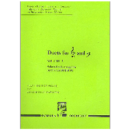 Duets for treble and bass clef vol.2 for flute (oboe , violin) and cello (fag)