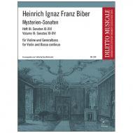 Biber, H. I. F.: Mysterien-Sonaten Band 3