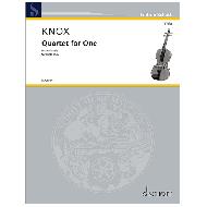 Knox, G.: Quartet for One (2020)