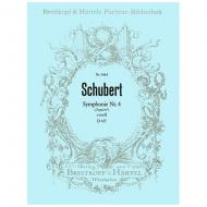 Schubert, F.: Symphonie Nr. 4 c-Moll D 417