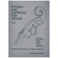 Gorbatov, J.: Etüden und Capricen Band 2
