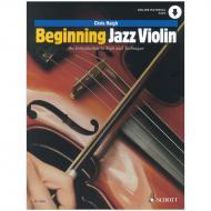 Haigh, Chr.: Beginning Jazz Violin (+Online Audio)