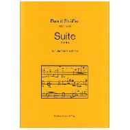Sträßer, E.: Suite für Violoncello alleine (1926)