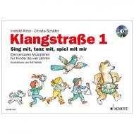 Klangstraße 1 – Kinderheft (+CD)