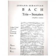 Bach, J.S.: Streichtrio: Trio-Sonaten Nr. III und IV