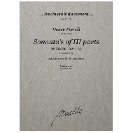 Purcell, H.: Sonnata's of III parts