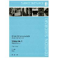 Schostakovitsch, D.: Walzer Nr. 2 aus der Suite Nr. 2 für Jazz-Orchester