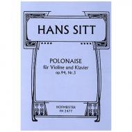Sitt, H.: Polonaise Op. 94/3