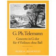 Telemann, G. Ph.: Konzert G-Dur