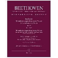 Beethoven, L. v. (u.a.): 33 Veränderungen über einen Walzer Op. 120