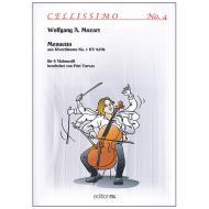 Mozart, W. A.: Menuetto – aus dem Divertimento Nr. 1 KV 439b