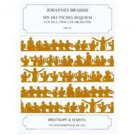 Brahms, J.: Ein deutsches Requiem Op. 45