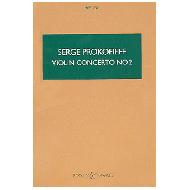 Prokofieff, S.: Concerto g minor no.2 Op. 63 violin and orchestra