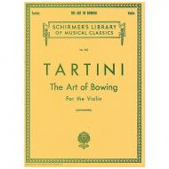 Tartini, G.: The Art of Bowing F-Dur
