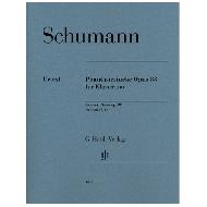 Schumann, R.: Phantasiestücke Op. 88 für Klaviertrio