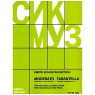 Schostakowitsch, D.: Moderato und Tarantella