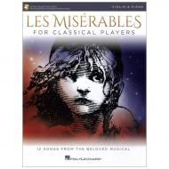 Les Miserables: Songbook for Violin Solo (+Online Audio)
