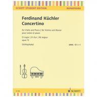Küchler, F.: Concertino Op. 12 D-Dur