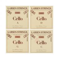 LARSEN Cellosaiten SATZ