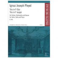 Pleyel, I. J.: Trio in F-Dur (B.465)