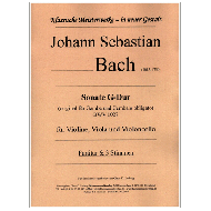 Bach, J. S.: Sonate G-Dur BWV 1027