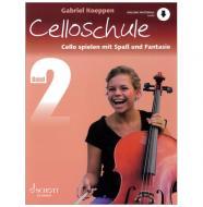 Koeppen, G.: Cello spielen mit Spaß und Fantasie Band 2 (+Online Audio) - Schule