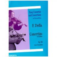 Drdla, F.: Violinkonzert Op. 225 a-Moll