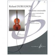 Dubugnon, R.: Dix petites concertudes Vol. 2 (Nr. 6-10)