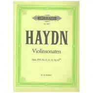 Haydn, J.: Violinsonaten Hob. XV:17 / XV:31 / XV:32 / XV:38 / XVI:42