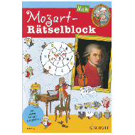 Mein Mozart-Rätselblock (+Online-Audio)