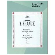 Franck, E.: Violoncellosonaten Nr. 2 Op. 42 D-Dur
