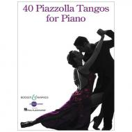 Piazzolla, A.: 40 Piazzolla Tangos for Piano