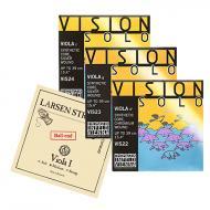 Larsen A + Vision Solo D-G-C von Thomastik-Infeld SATZ