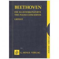Beethoven, L. v.: Die Klavierkonzerte 1-5 (5 Bände im Schuber)