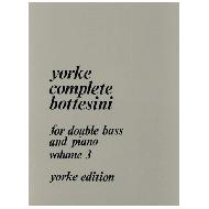Bottesini, G.: Complete Bottesini Vol. 3