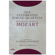 Mozart, W.A.: Ten Celebrated String Quartets