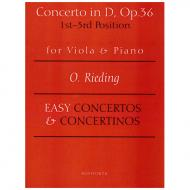 Rieding, O.: Concerto in D-Dur op. 36