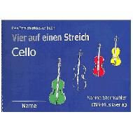 Steinkühler, S.: Vier auf einen Streich — Schülerheft Violoncello