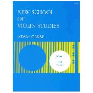 Carse, A.: New School of Violin Studies – Book 2