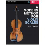Thomas, R.: A Modern Method for Violin Scales (+Online Audio)