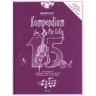 Kompendium für Cello - Band 15 (+ 2 CD's)