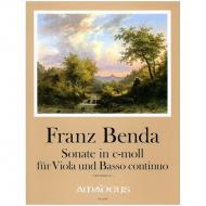 Benda, F.: Violasonate c-Moll