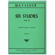 Mayseder, J.: Sechs Etüden op. 29