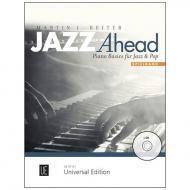 Reiter, M. J.: Jazz Ahead – Spielband für Klavier (+CD)