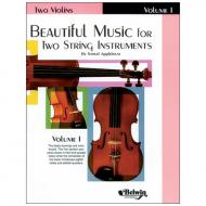 Applebaum, S.: Beautiful Music for two String Instruments Vol. 1 – Violine