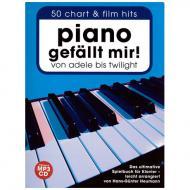 Piano gefällt mir! 50 Chart und Film Hits Band 1 (+CD)