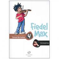 Holzer-Rhomberg, A.: Fiedel-Max für Violine Schule 4 – Klavierbegleitung